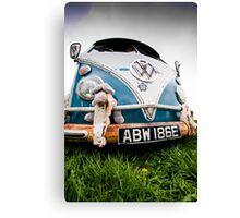Volks Wagon Van Canvas Print