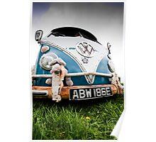 Volks Wagon Van Poster