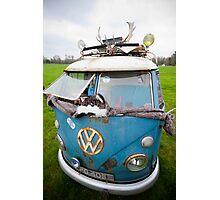 VW Hippy Split Screen Buss Photographic Print