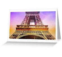 Eifel Tower 005 Greeting Card