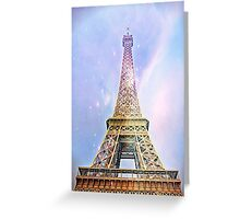 Eifel Tower 006 Greeting Card