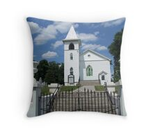 Union Forge Church and Cemetery Throw Pillow