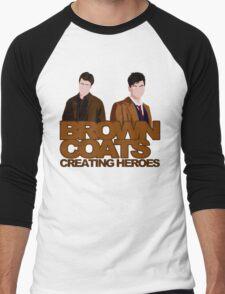 Brown Coats Men's Baseball ¾ T-Shirt