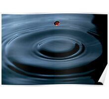 water  droplet 2 Poster