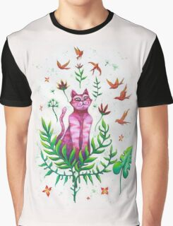The pink explorer  Graphic T-Shirt