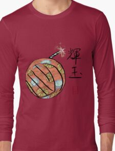 Amaterasu's Cherry Bomb Long Sleeve T-Shirt