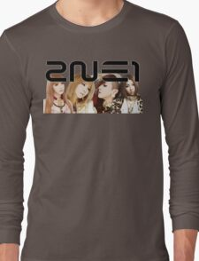 2NE1 I LOVE YOU Long Sleeve T-Shirt