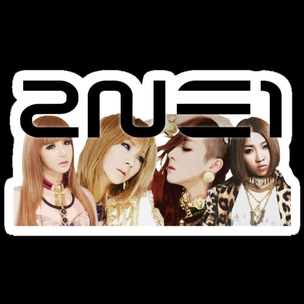 2NE1 I LOVE YOU by Nate Lowe