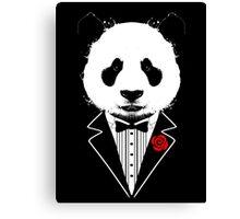 Tuxedo Panda Canvas Print
