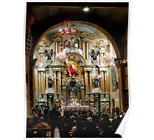 Easter at El Carmen De La Asuncion Poster