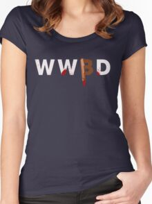 What Would Buffy Do Women's Fitted Scoop T-Shirt