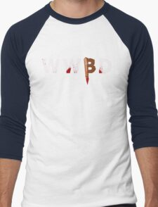 What Would Buffy Do Men's Baseball ¾ T-Shirt