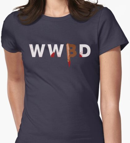 What Would Buffy Do Womens Fitted T-Shirt