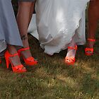 Orange Shoes by Vonnie Murfin