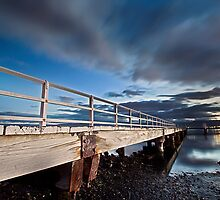 On The Jetty - Lake Illawarra by Ryan Conyers
