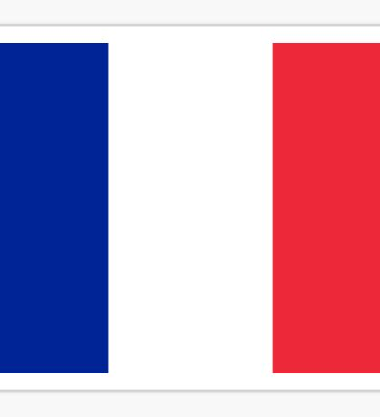 French World Cup Football Flag - France T-Shirt Sticker