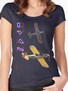Ryan Twins T-shirt Design Women's Fitted Scoop T-Shirt