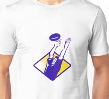 Rugby Player Catching Lineout Ball Unisex T-Shirt