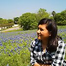 in the bluebonnet(s)  by marilittlebird