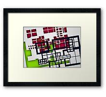 Building Blocks 2 Framed Print