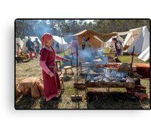 Abbey Medieval Festival 2012  10 Canvas Print