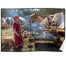 Abbey Medieval Festival 2012  10 Poster