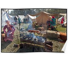 Abbey Medieval Festival  11 Poster