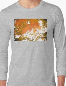 Autumn Tree Branches 3 Long Sleeve T-Shirt