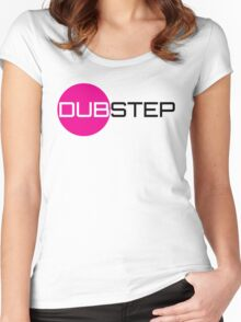 Dubstep (circle) Women's Fitted Scoop T-Shirt