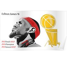 Lebron James First Ever Title Poster
