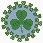 Shamrock and Knotwork by RHFay