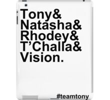 Team Tony iPad Case/Skin