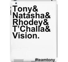 Team Tony iPad Case/Skin