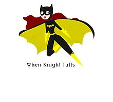 When Knight Falls Photographic Print