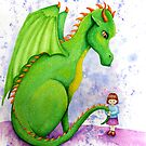Green Dragon by Katherine Appleby