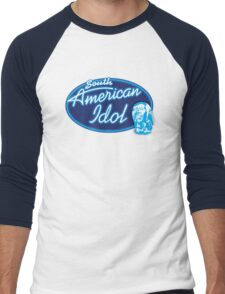 South American Idol Men's Baseball ¾ T-Shirt