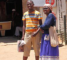 Couple in Soweto by Carole-Anne