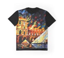 Louvre Museum Graphic T-Shirt