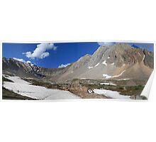 Above Highwood Pass (panorama) Poster