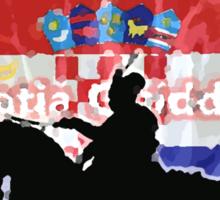 Croatia Quidditch Sticker