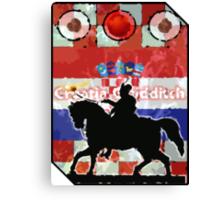 Croatia Quidditch Canvas Print
