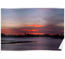 Tantalizing sunset Poster