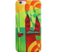 Chinese Junks On Still Waters iPhone Case/Skin