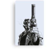 Hellboy - Clint Eastwood Pose Canvas Print