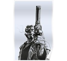 Hellboy - Clint Eastwood Pose Poster