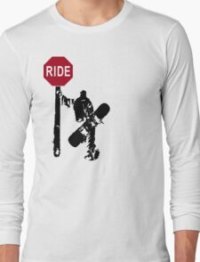 snowboard : directions? Long Sleeve T-Shirt