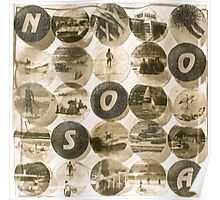 Noosa - Antiqued Poster