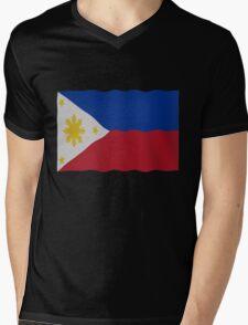 Philippines flag Mens V-Neck T-Shirt