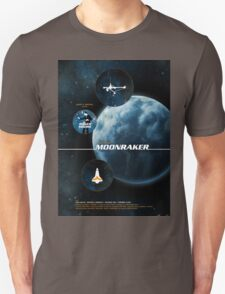 Moonraker - Movie Poster T-Shirt
