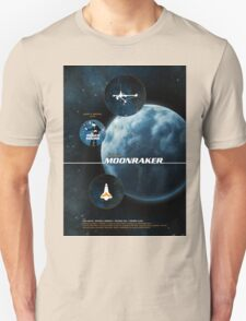Moonraker - Movie Poster T-Shirt
